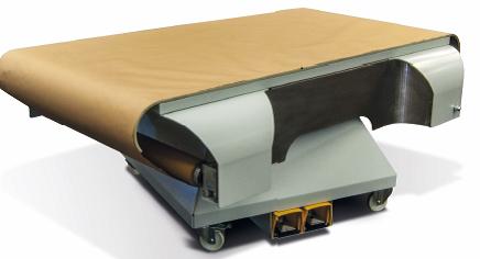 Spuittafel met papierrol zodat panelen IMTechnology