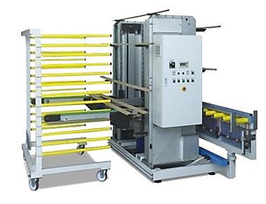 Uitvoer- en afstapelautomaten foto handling 2SF IMTechnology
