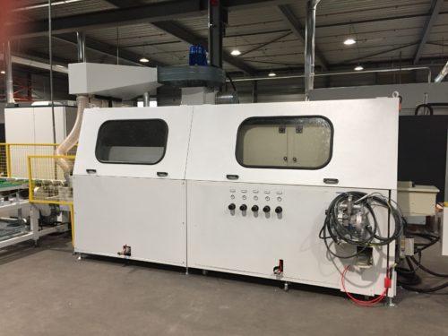 De single parts Flow Line automaat IMTechnology
